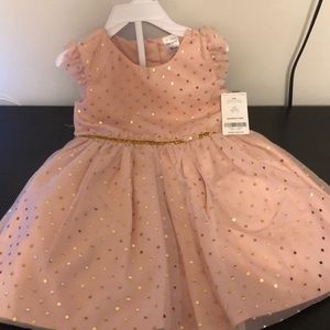 Carter's | Baby Polka Dot Tulle Holiday Dress 18m